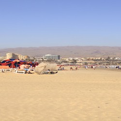 Playa del ingles Gran Canaria Strand