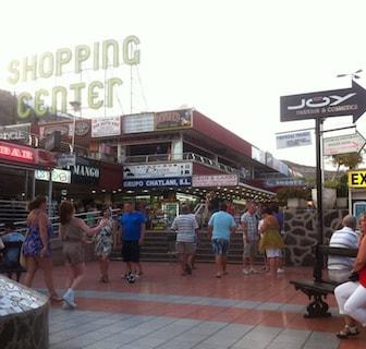 Shopping center i center af Puerto Rico